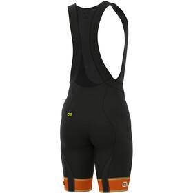 Alé Cycling Graphics PRR Sella Bib Shorts Herren flou orange-white